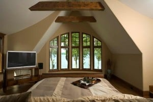 Beautiful Lake Geneva View from Charming Master Bedroom