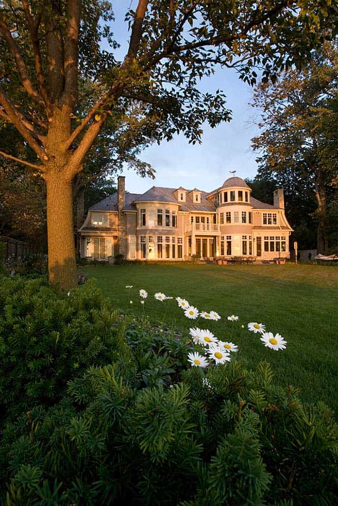 Lakefront Custom Estate - Nantucket Style