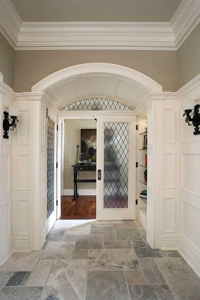 Interior Arched Doorways between Rooms