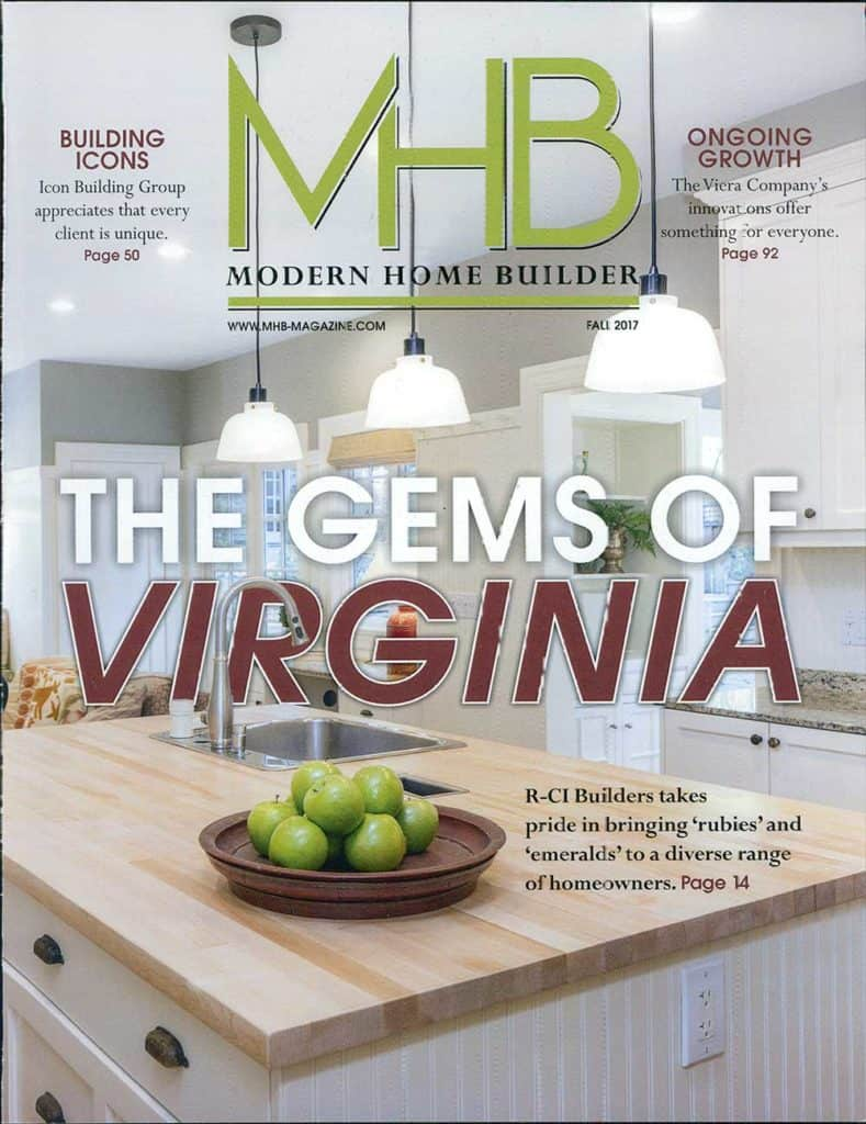 modern home builder fall 2017
