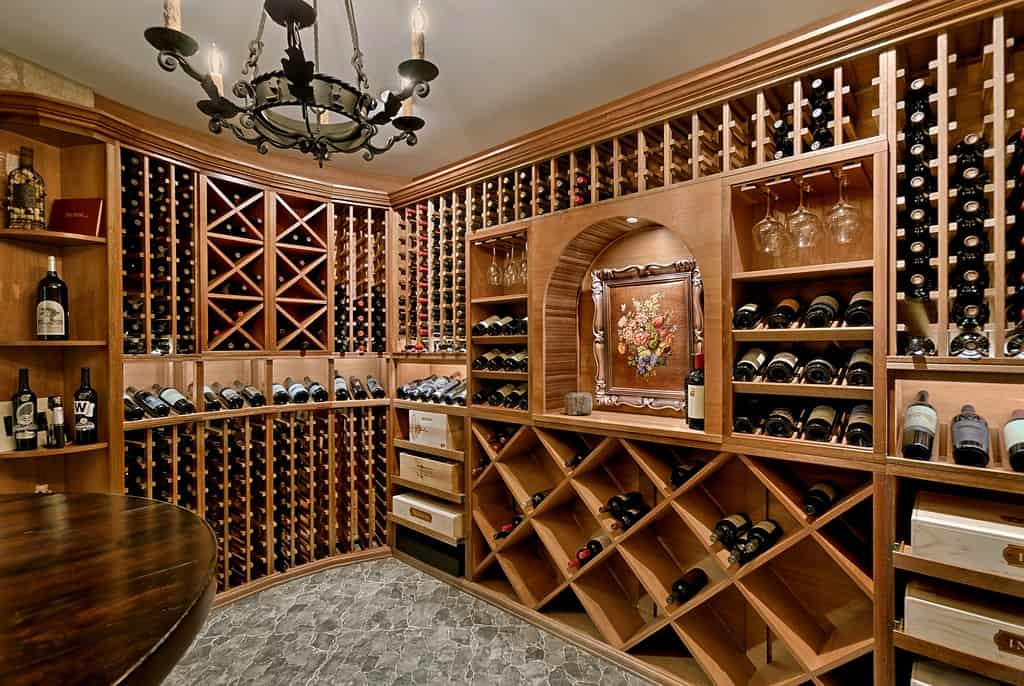 Wine Cellar Basics Racking Lighting Temperature Moisture And Position