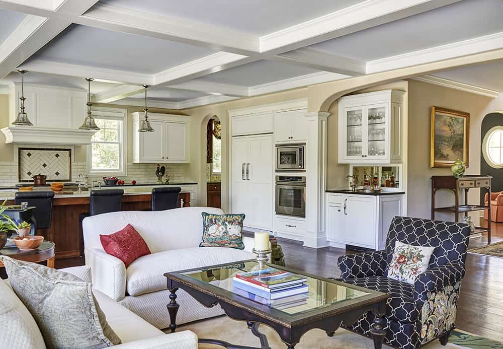 great room design build by orren pickell